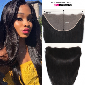 WorldNewHair Straight 13x6 Lace Frontal Free Part With Baby Hair Straight Weave